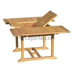 Rect.Extending Table with size: 180 cm