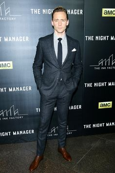 In Thom Sweeney at the L.A. premiere of The Night Manager.