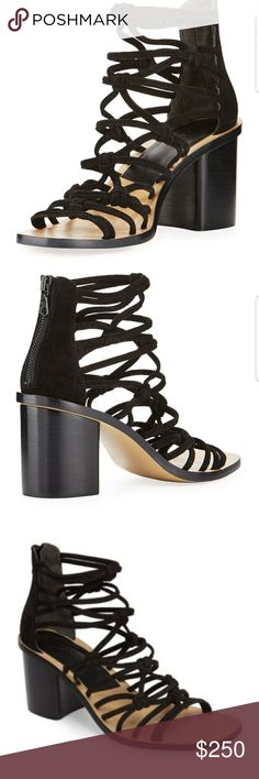 4dad2d4a351 Rag   Bone Camille Caged Macrame Mid Heel New in box! Boutique overstock