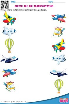 Free science transportation for preschool & kindergarten, with printable. Kids will be able to Identify and circle thew different kind of transport vehicles on each worksheet. Color Worksheets For Preschool, Preschool Writing, Kindergarten Math Worksheets, Free Preschool, Preschool Printables, Preschool Kindergarten, Alphabet Worksheets, Transportation Worksheet, Transportation Theme Preschool