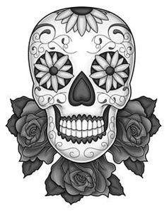 Tattoo Sleeve Designs For Women Sugar Skull More