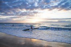Sunrise paddle-out on the Gold Coast 3 by Robert McKenzie  on 500px