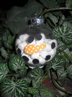 Cute ornament for gift to parents