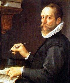 Portrait de Claudio Merulo connu sous le nom de Claudio da Corregio compositeur de l'époque renaissance italienne