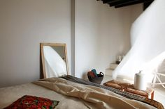 Casa Cook: Bringing an Urban Beat to the Beach San Giorgio Mykonos, Casa Cook, Greek House, Soho House, Beautiful Homes, Cool Designs, Urban, Mirror, Architecture