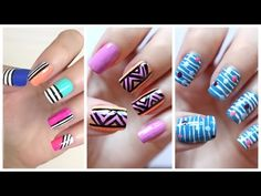 83 Best Nail Art Tutorials And Ideas Images On Pinterest Easy