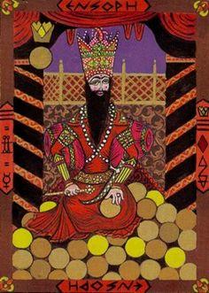 King of Discs - Kazanlar Tarot