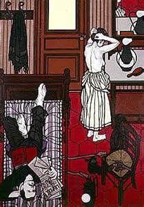 Serie Anarchici, Saint-Etienne 1890, Ravachol et Madeleine Labret. Flavio Costantini.