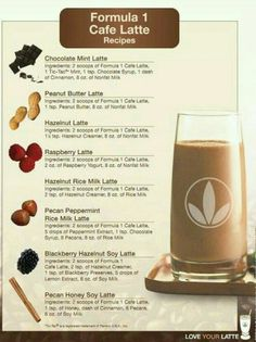 Herbalife Protein, Herbalife Shake Recipes, Protein Shake Recipes, Herbalife Nutrition, Protein Shakes, Herbalife Products, Herbalife 24, Caffe Latte Recipe, Herbal Life Shakes