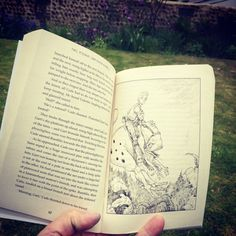 Doombringer Book two of the Cade Saga The Edge Chronicles #reading #sunshine #outdoors #book