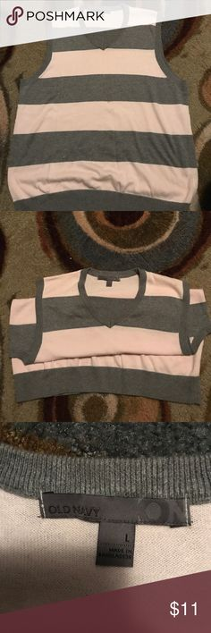 Pink and Gray Old Navy Vest 💡 Pink and Gray Old Navy Vest 💡🔥😎 SiZE: LARGE ‼️ Gently Used‼️ #RealMenWearPink ‼️🔥🙌🏽 LADIES THIS WOULD BE A GREAT BUY FOR YOU MAN. ‼️‼️ Jackets & Coats Vests