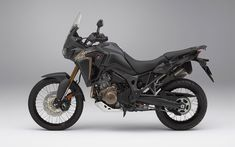 CRF1000L Africa Twin lateral black fx