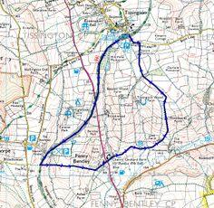 Walking Birchen Edge | Walk route map | Peak District - Lake District Peak District, Walking Routes, Walks, Traveling, Hiking, Map, Beautiful, Viajes, Hiking Trails