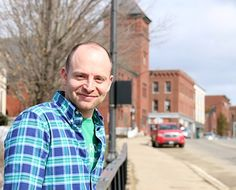 Marty Parichand, owner and operator of One New England and head of the nonprofit Mill City Park, is part of the core team focused on revitalizing Franklin.