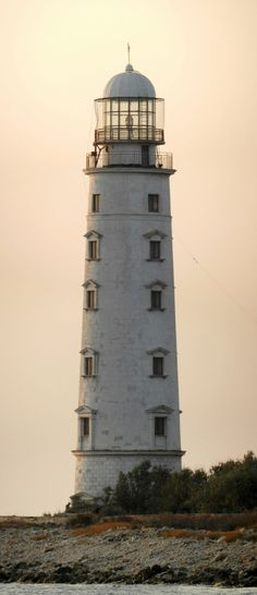 Chersones Lighthouse – Ukraine – 2020 World Travel Populler Travel Country Ukraine, Lighthouse Pictures, Beacon Of Light, Light Of The World, Water Tower, Am Meer, Belle Photo, Beautiful Places, Scenery