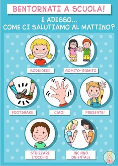 Kindergarten Classroom Rules, Italian Lessons, Art Education Projects, First Day Of School Activities, Subject And Verb, Outdoor Education, Classroom Organisation, Learning Italian, Math For Kids