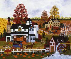 Jane Wooster Scott —  Textures Of Autumn (900x750)