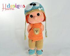 PATTERN Mia Doll Inspired Watermelon von HavvaDesigns auf Etsy
