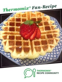 Recipe Gluten Free Waffles by learn to make this recipe easily in your kitchen machine and discover other Thermomix recipes in Desserts & sweets. Healthy Waffles, Gluten Free Waffles, Sweets Recipes, Desserts, Recipe Community, Gluten Free Recipes, Pancakes, Vegetarian, Tasty