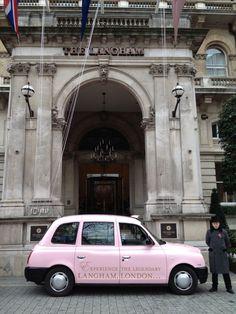 Transport Media Organise Taxi Branding For Langham London
