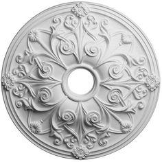 Ekena Millwork CM22TN Ceiling Medallion Primed