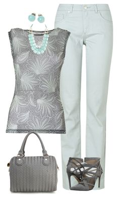 """""""Sin título #1774"""" by marisol-menahem ❤ liked on Polyvore featuring Briolette, Phase Eight, Dries Van Noten, Joe's Jeans and Deux Lux"""