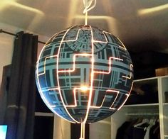 """This project was floating around the internet for a while and I was always faszinated by the Death Star idea.With my boyfriend moving in and the new space caused by a larger flat, the possibility was there and I took it ;)Since I haven't found an Instructable of this project here, I thought I will give it a try for my first time.So enjoy and I'm open for any kind of input to make things better or improve my writing.I'm participating in the """"First Time Authors"""" and """"SCI-FI""""..."""