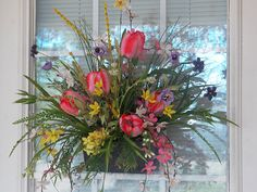 Valentine Easter or Spring Wreath for Gift