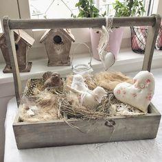 🕊🐣💕 #birds #heart #sewing #nähenmachtglücklich #spring #decor #interior #efeu #vogelhaus #lienezumdetail #zuckersüß #nest #diy #handmade #onlineshop #atelier #stoffigesundmehr #stgallen #zurich #bern #switzerland