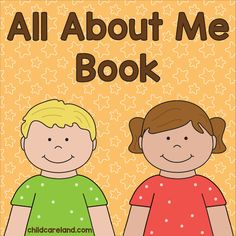 "During the first week of school we make ""all about me"" books and read them at circle time so the children can get to know each other a bit better. This year I finally go a chance to update my book. Circle Time Activities, Early Learning Activities, Autism Activities, Classroom Activities, Motor Activities, Preschool Ideas, All About Me Preschool Theme, All About Me Crafts, All About Me Booklet"