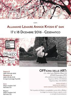 Aikido seminar in Cesenatico (Italy) - http://bit.ly/2gF6SU1