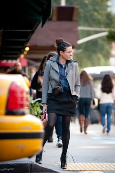 Garance Dore by Scott Schumann of The Sartorialist