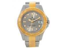 Rolex Yachtmaster Midsize Steel and Gold Watch 68623