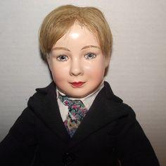 "Vintage Effanbee RARE & HTF Dewees Cochran American Children Boy Doll 17"" Tall Circa 1936 from Stuck On Dolls - stuckondolls@gmail.com for $950.00"