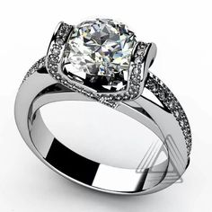 The setting is great #beautifulrings