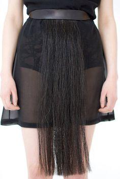 horse hair belt...