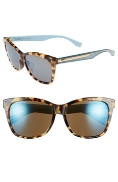 Fendi 56mm Special Fit Sunglasses