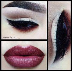 Make up done by gorgeous make up artist @depechegurl on Instagram