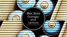 Ben Eine - Oranges and Lemons by Abbie Brandon