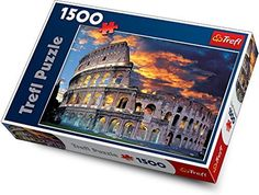Trefl the Coliseum Rome 1500 Piece Jigsaw Puzzle >>> Find out more about the great product at the image link.