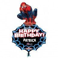 Shape Spiderman Personalize It Happy Birthday $21.95 U29655