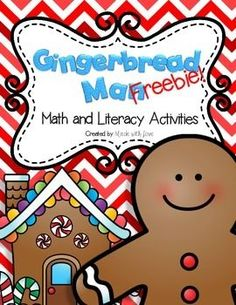 Enjoy this freebie, which includes: --Gingerbread Man Little Reader --Sight Word Worksheets --Missing Numbers Worksheet If you like these activities, check out the full version: Gingerbread Man Math and Literacy Activities