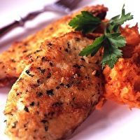 Parmesan-Crusted Chicken Copykat Cooper's Hawk recipe