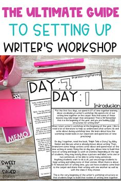 Are you a first year teacher or a veteran teacher looking for the best way to setup your Writer's Workshop? In this post, I am sharing how to set up Writer's Workshop in a way that helps your students learn about the writing process and increase engagement even for struggling writers. Learn about the writing mini lessons and grab writing anchor chart ideas in this post. I also share writing folder ideas and a writing folders label freebie to help keep your students organized during writing.