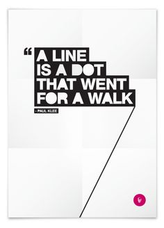 Line is a dot by tasos ritos, via Behance