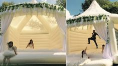 These Inflatable Bouncy Castles Will Definitely Spice Up Your Wedding - 9GAG