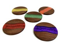 These unique coaster are available in different type of wood and resin colors. Manufactured in Switzerland Different Types Of Wood, Wood Resin, Made Of Wood, Cold Drinks, Epoxy, Switzerland, Solid Wood, Coasters, Colors