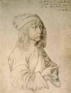Self-Portrait, Albrecht Durer, as a boy