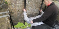 Kiss the Blarney Stone! The Stone in located in Blarney Castle, which is an amazing place to go. To kiss the stone, one has to lean backwards while holding on to an iron railing. Once kissed, the stone bestows the gift of eloquence.