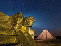 Las ruinas mayas de Chichen Itza, Mexico (Paul Nicklen, 2013)
